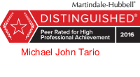 Martindale-Michael-peer review rating