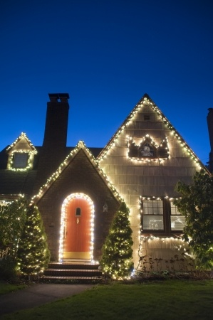 Christmas Light Ladder accidents
