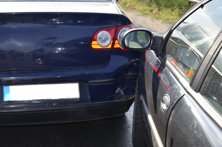 Side Swipe Car Accident Fault
