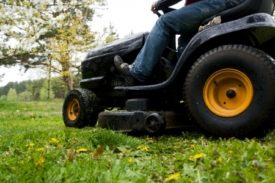 riding mower safety