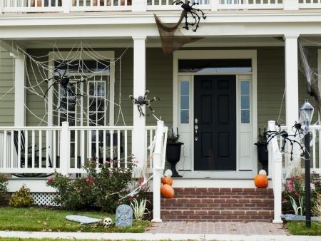 decorate yard halloween