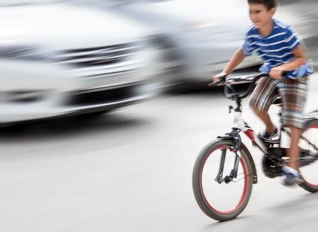 child bike accident