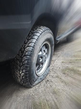 tire blowout car accident