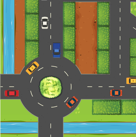 Roundabout accident statistics