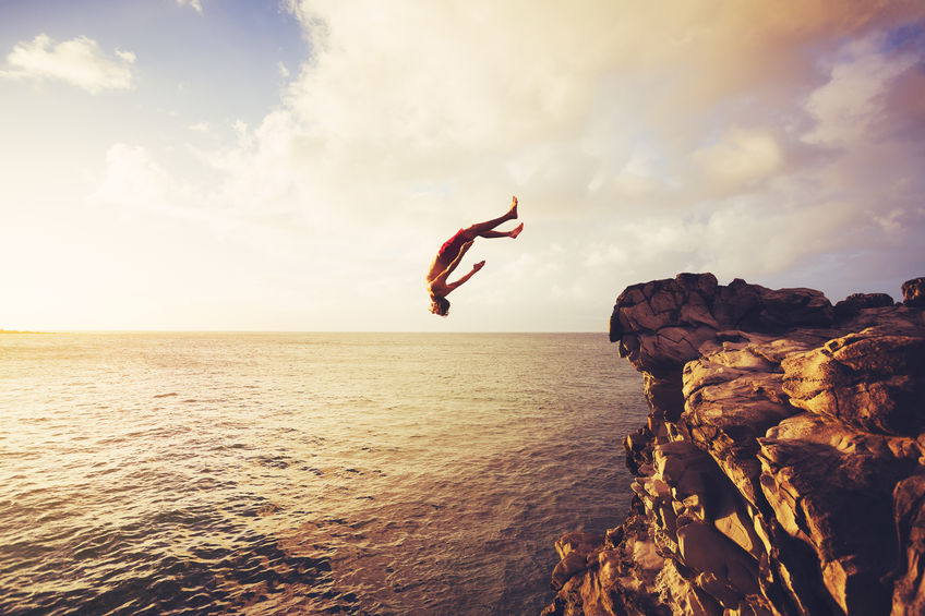 cliff diving accident