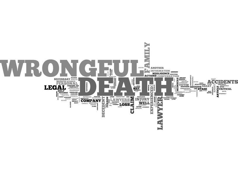wrongful death settlement