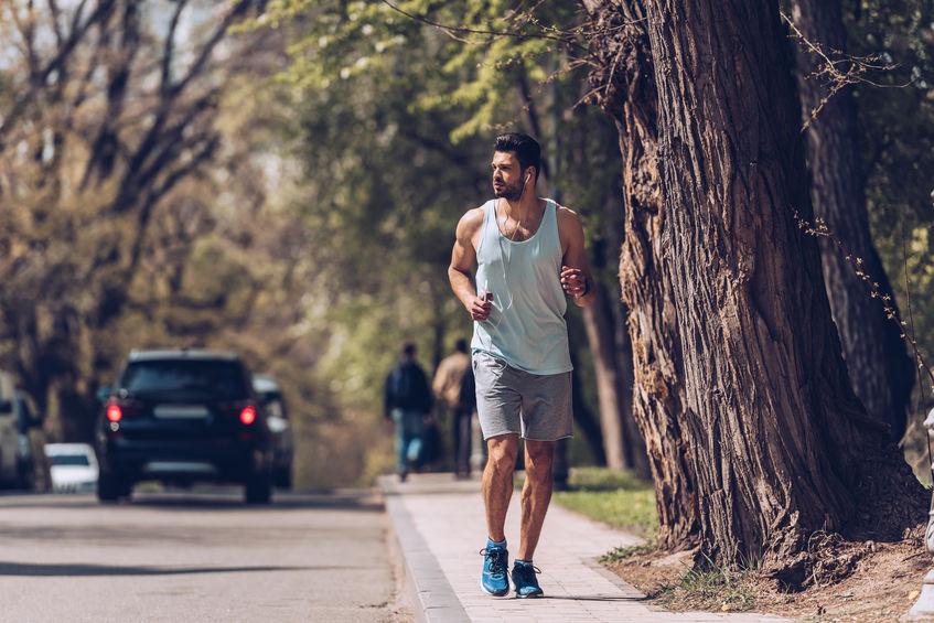 car-runner collisions